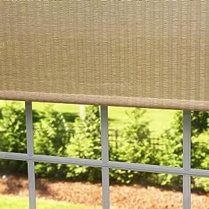 """Best Home Fashion Premium Single Roller Window Shade - Beige - 30""""W x 64""""L"""