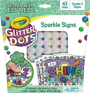 Crayola 绘儿乐 闪光圆片 闪闪发光的手工艺品套装,适用于5岁以上儿童的家庭手工用品