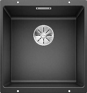 厨房水槽 SUBLINE 亮黑色 400 mm Beckenbreite SUBLINE 400-U 523 422