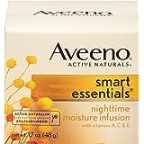 Aveeno 智能必备夜间保湿水,1.7盎司(约50.3毫升)(3瓶装)