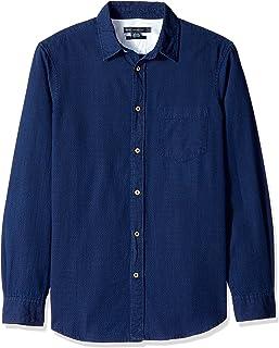 French Connection 长袖印花常规版型系扣衬衫