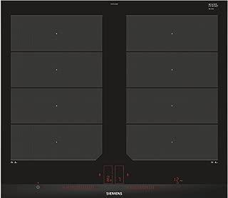 Siemens ex675lxe3e 桌面 感應式 黑色, 不銹鋼 爐灶