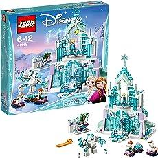 LEGO 乐高  拼插类 玩具  Disney Princess 迪士尼公主系列 冰雪奇缘冰雪城堡 41148 6-12岁