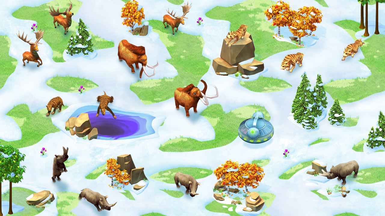 神奇动物园:动物,恐龙大营救