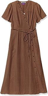 Snidel 自由印花连衣裙 SWFO201040 女士