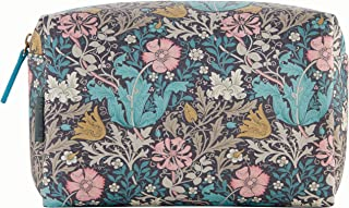 Morris & Co. 粉红色粘土和金银灰色大号旅行洗包