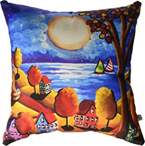 DENY Designs Renie Britenbucher Fall Night Sail Throw Pillow