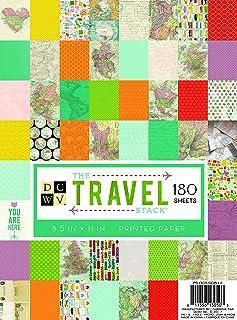 American Crafts 纸张堆 Dcwv 21.59cm X 27.94cm 印刷旅行
