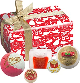 Bomb Cosmetics 圣诞卡尔手工包装礼品包 [包含 5 件]