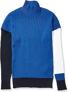A|X Armani Exchange 阿玛尼男式企领罗纹棉套衫