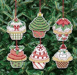 Janlynn 21-1390 圣诞纸杯蛋糕装饰数十字绣套件