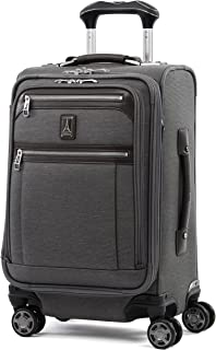 Travelpro Luggage Platinum Elite 20英寸(约50.8厘米)便携可扩展商务转轮带 USB 端口