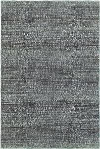Living Comfort Amberly 8 英尺 6 英寸 X 11 英尺 7 英尺 休闲蓝/灰色室内地毯,