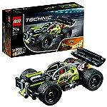 LEGO 乐高  拼插类 玩具  Technic 机械组系列 高速赛车-旋风冲击 42072 7-14岁