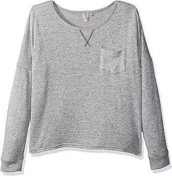Roxy 女童闪耀轻便套头羊毛上衣 传统杂色 12/L