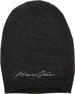 Armani Jeans 女士经典针织帽,灰色(Grigio Scuro 00249),均码( 制造商尺寸: II)