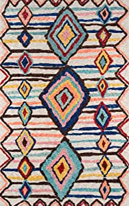 Momeni Rugs Margaux 桌布现代几何小地毯