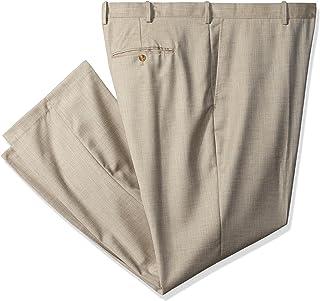 Perry Ellis 男士高大织纹西装裤 淡色(Natural Linen) 44W x 34L