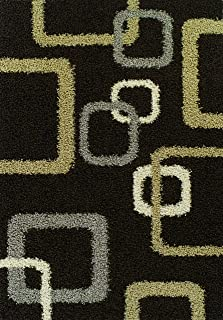 Dalyn Rugs Concord CZ534 小地毯,巧克力色,3 英尺 3 英寸乘 5 英尺 1 英寸