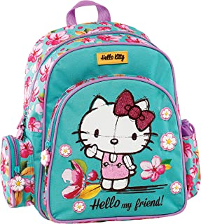Graffiti Hello Kitty 学生背包,30 厘米 *(薄荷绿) *(薄荷绿)