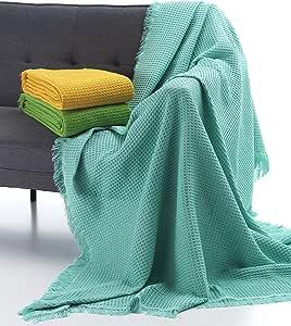 Glam Oslo Bed Linen,algodón-poliéster,Pistachio,双人,37 x 29 x 12 厘米