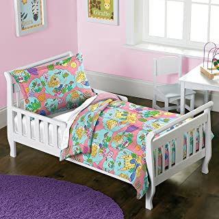 Dream Factory 美人鱼城堡被子套装,幼儿,粉色
