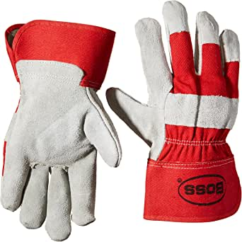 Boss Gloves 4095R 大号皮革手掌手套