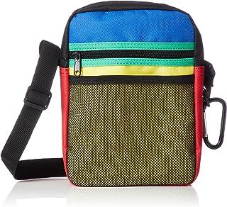 [WEGO] 单肩包 网眼口袋方形挎包 BR18SS02-MG0015
