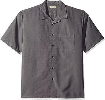 Red Kap 男士微纤维可转换领衬衫 Storm/Black Small