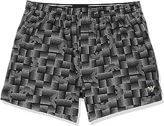安普里奥·阿玛尼 短裤 圆点鹰花纹 (柔软质感加工) 男士