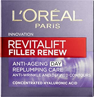 L'oreal Paris 巴黎欧莱雅 Revitalift Filler Renew透明质酸抗衰老日霜50ml