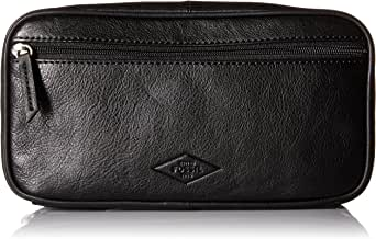Fossil Double Zip Shave Kit - Black Fabric Black Fabric 均码