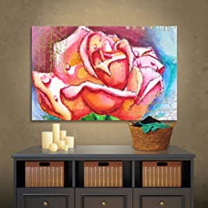"""ArtWall Susi Franco's Breathe Gallery Wrapped Floater-Framed Canvas, 12 by 18"""""""