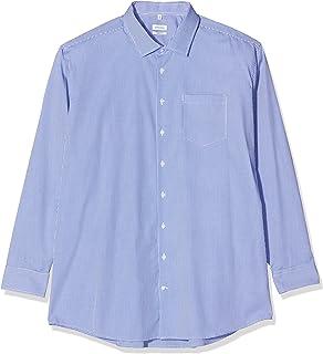 Seidensticker 男士商務襯衫常規合身商務襯衫