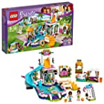 LEGO 乐高  拼插类 玩具  LEGO Friends 好朋友系列 心湖城夏季游泳池 41313 6-12岁