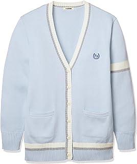 conomi 制服學校開衫藍色 × 白色