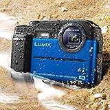 Panasonic 松下 LUMIX TS7 防水硬质相机DC-TS7A 蓝色