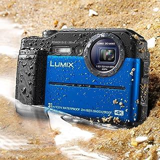Panasonic 松下 LUMIX TS7 防水硬質相機DC-TS7A 藍色