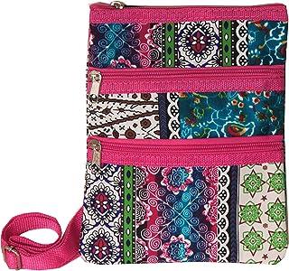 World Traveler Womens 9 Inch Swingpack Purse Bag Bohemian 均码