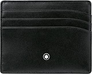 Montblanc 萬寶龍 Masterpiece 信用卡包,黑色,4017941572370