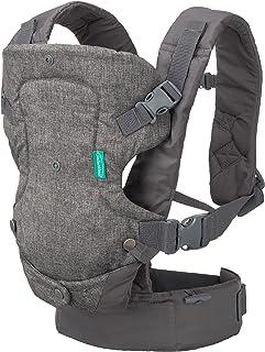 Infantino Flip 4合1可折叠式背带,灰色