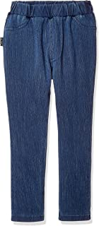 GUNZE 郡是 Tuche 打底裤 儿童款 针织牛仔布 TZH931