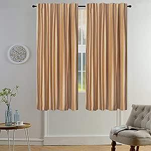 Light & Pro 窗帷幔 米色多色 50x72 59465