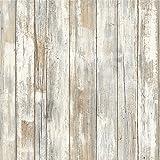RoomMates 木即剥即贴墙纸装饰 乡村木 Wallpaper RMK9050WP