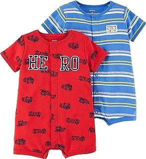 Carter's 男婴 2件装卡扣连体衣