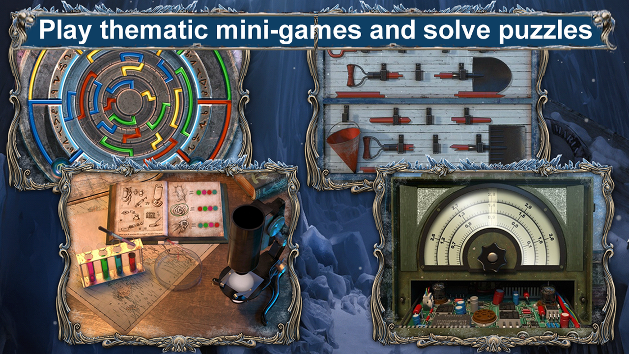 mystery expedition: prisoners of ice free hidden