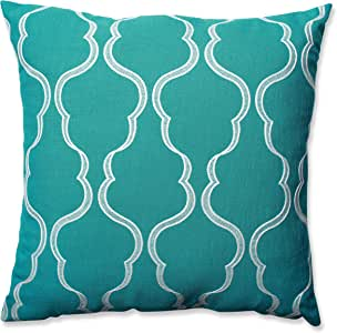 Pillow Perfect Cassie Aqua 24.5-Inch Floor Pillow