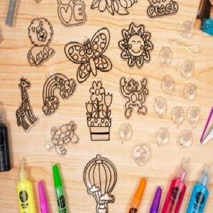 window art, create, learn, grow, decorate, window, art, activity kit, activities, groups, kids