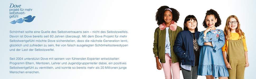 Dove Projekt für mehr Selbstwertgefühl