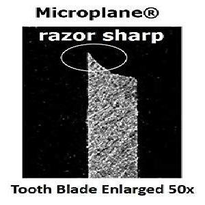 Microplane Blade Enlarged 50x